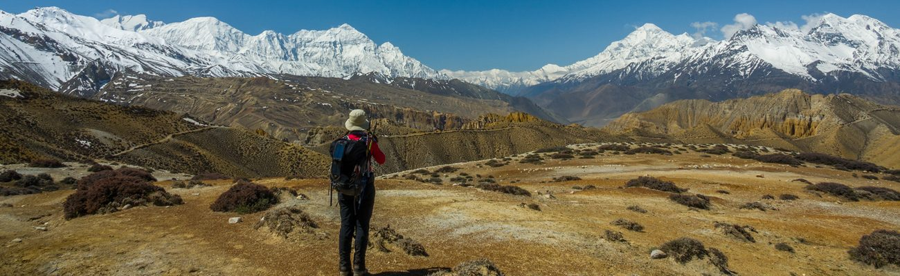 Wilderness trekking experience in Nepal