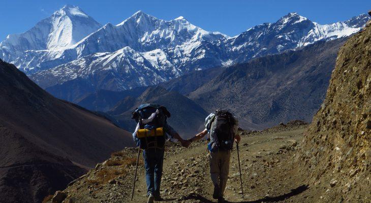 Jomsom Muktinath trek with magnificent view of Dhaulagiri