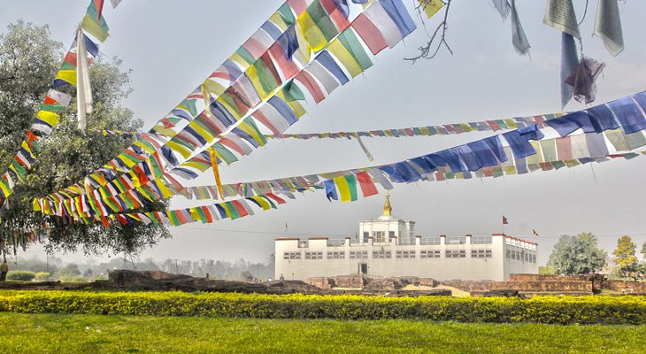 Lumbini tour, Birth place of Buddha and Maya Devi temple in Lumbu Nepal on explore Nepal trip