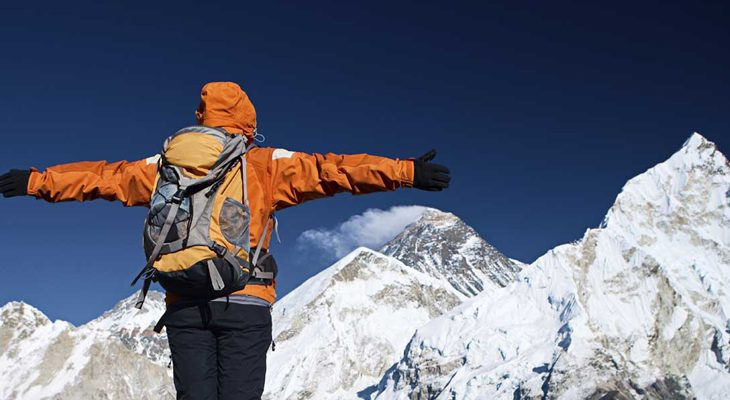 The best hiking experienced hugging giant Mount Everest from Kala Patthar Viewpoint.