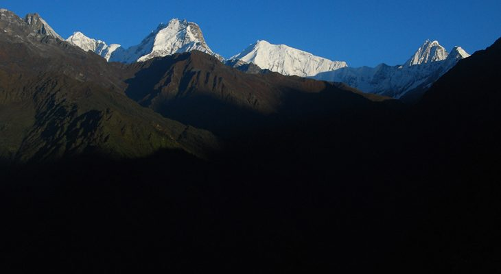 Excellent Mountain view sceneries catching from Nagthali gyang in the Tamang Heritage Trail Trek