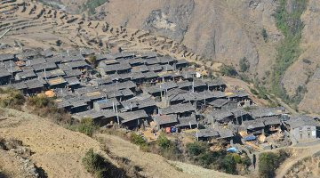 gatlang-village-en-route-of-tamang-heritage-trekking-trail