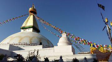 Largest buddhist stupa in Kathmandu