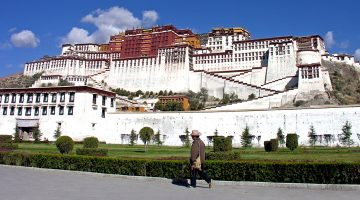 potala palace in lhasa tour