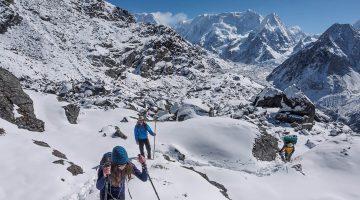 side trek to Kanchenjunga base camp