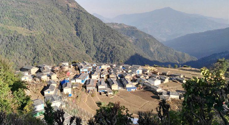 Newly discover Mohare Danda trek route passes beautiful Nagi village