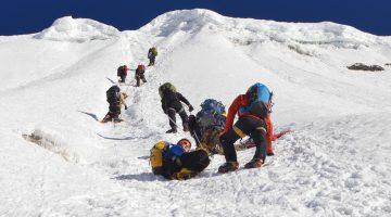 Short Island Peak Climbing