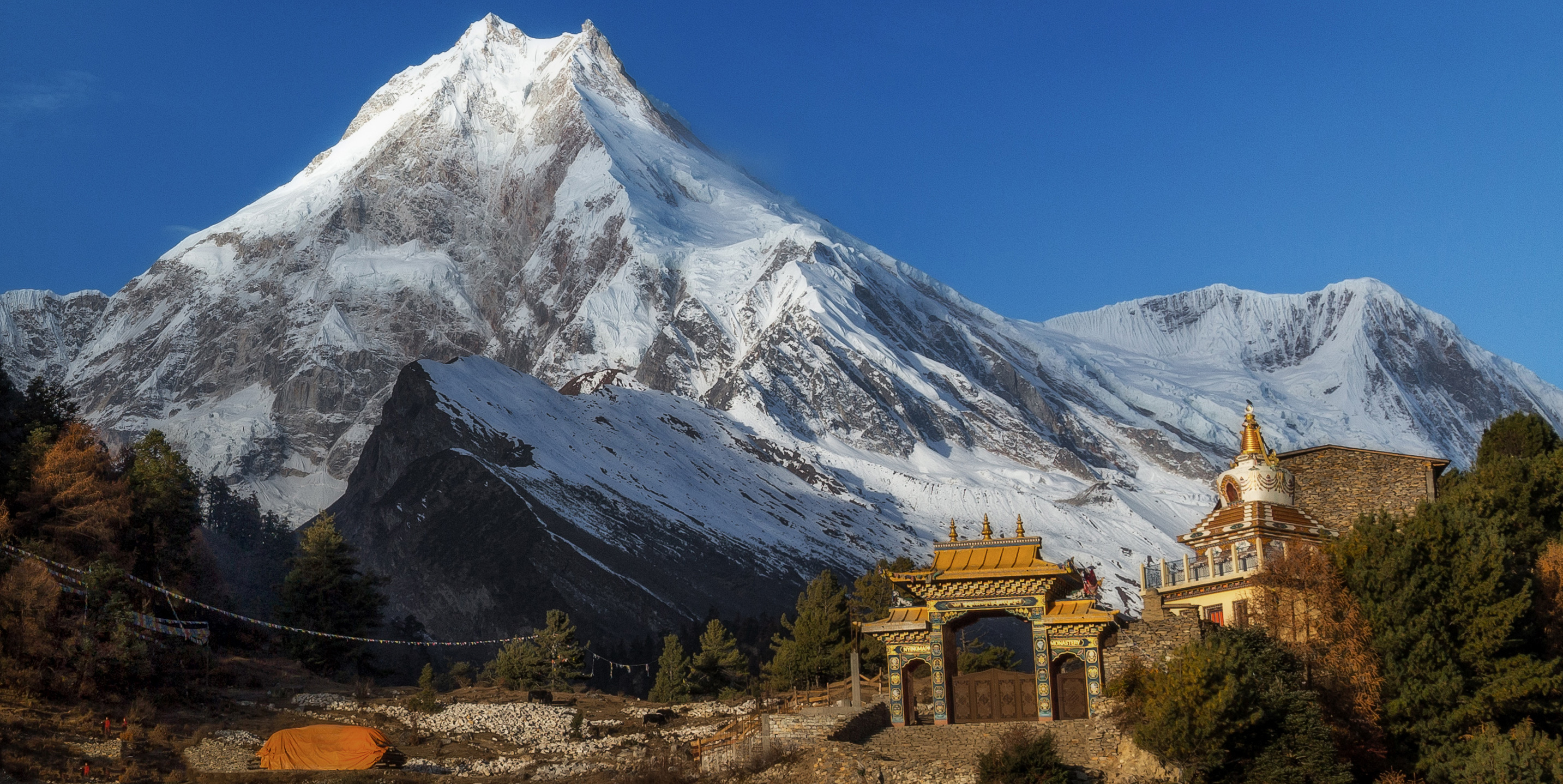 Off the beaten trekking route in nepal