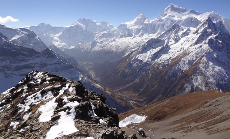 Day Trips to Lajyung Bhanjyang/Samdo Ri/Pana Danda on Manaslu Trek