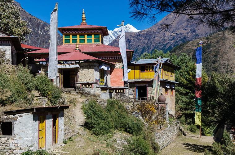 Buddhist monasteries in Everest base camp trek