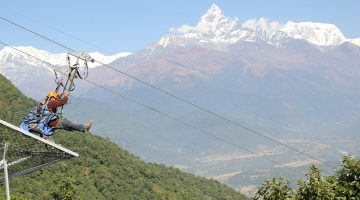 Zip Line/Flyer In Nepal