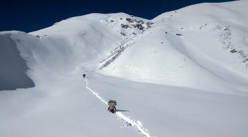 Follow a dramatic view trail to Lumba Sumba Pass (5,180 m) on the Lumba Sumba Pass Trek