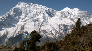 Excellent Annapurna range offers while doing day trip to Ice lake during the Classical Annapurna Circuit Trek.