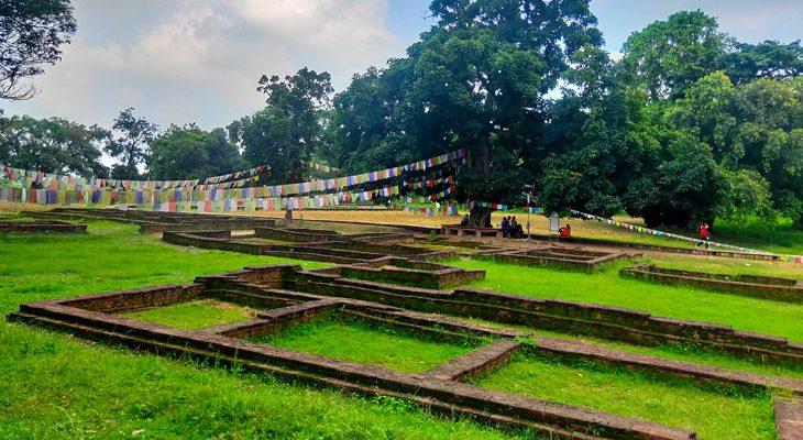 Kapilvastu king suddhodana palace and where Gautam Buddha spent his family life
