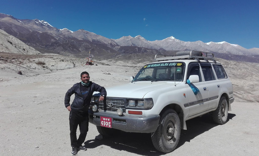 Overland trip from Kathmandu to Lukla by private and sharing jeep